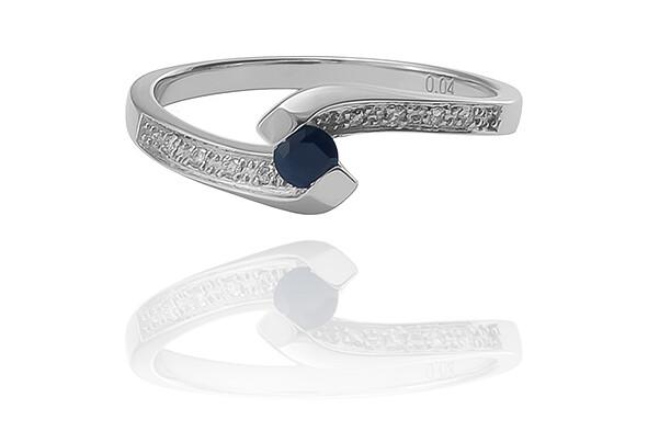 Siena - drágaköves eljegyzési gyűrű