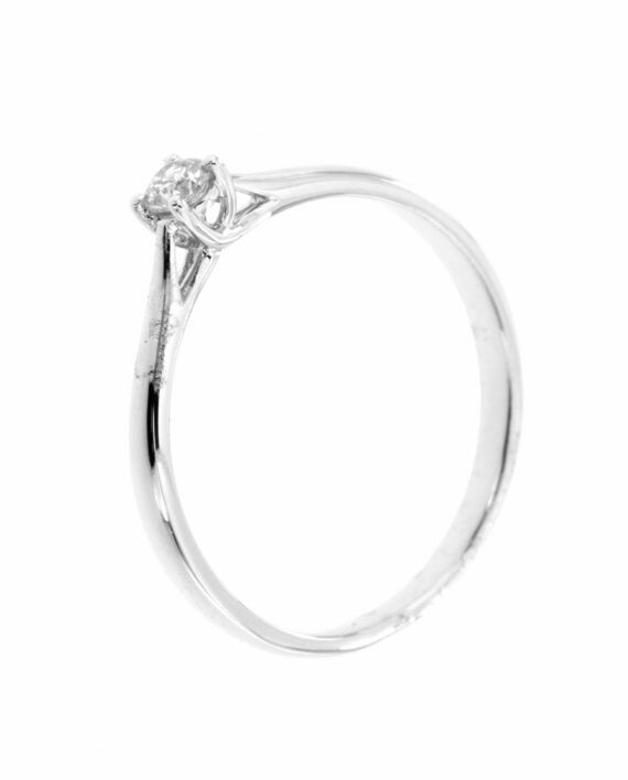 Sydney – White Gold - gyémánt eljegyzési gyűrű