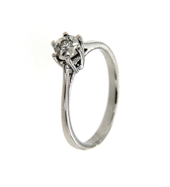 Hudson - gyémánt eljegyzési gyűrű