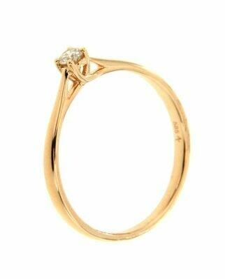 Sydney - Rose Gold - gyémánt eljegyzési gyűrű