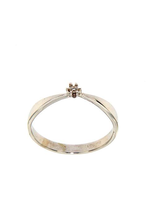 Edessa - gyémánt eljegyzési gyűrű