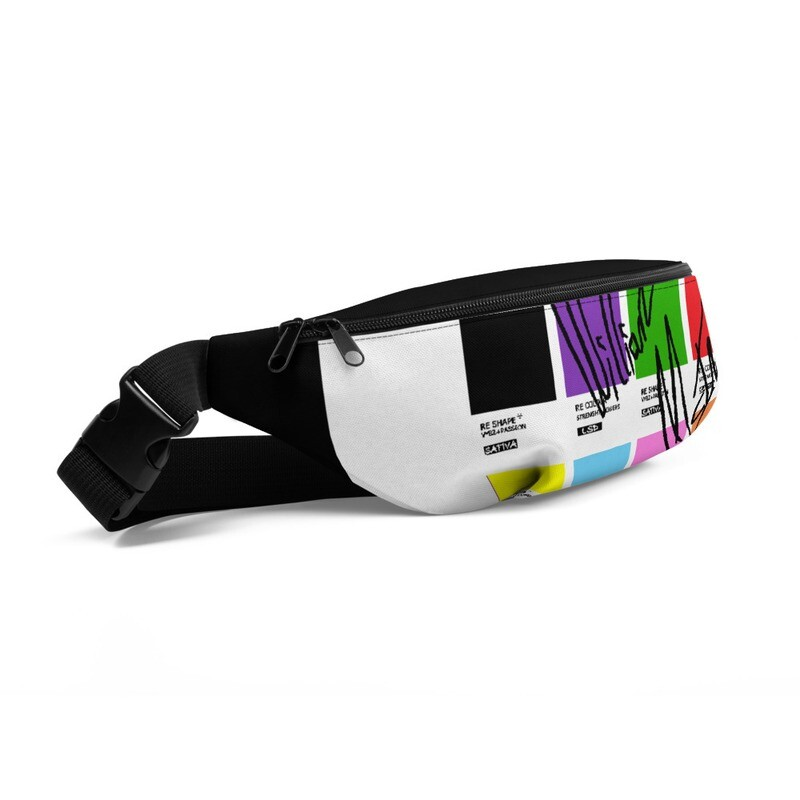 All-Over Print Fanny Pack RCRS1