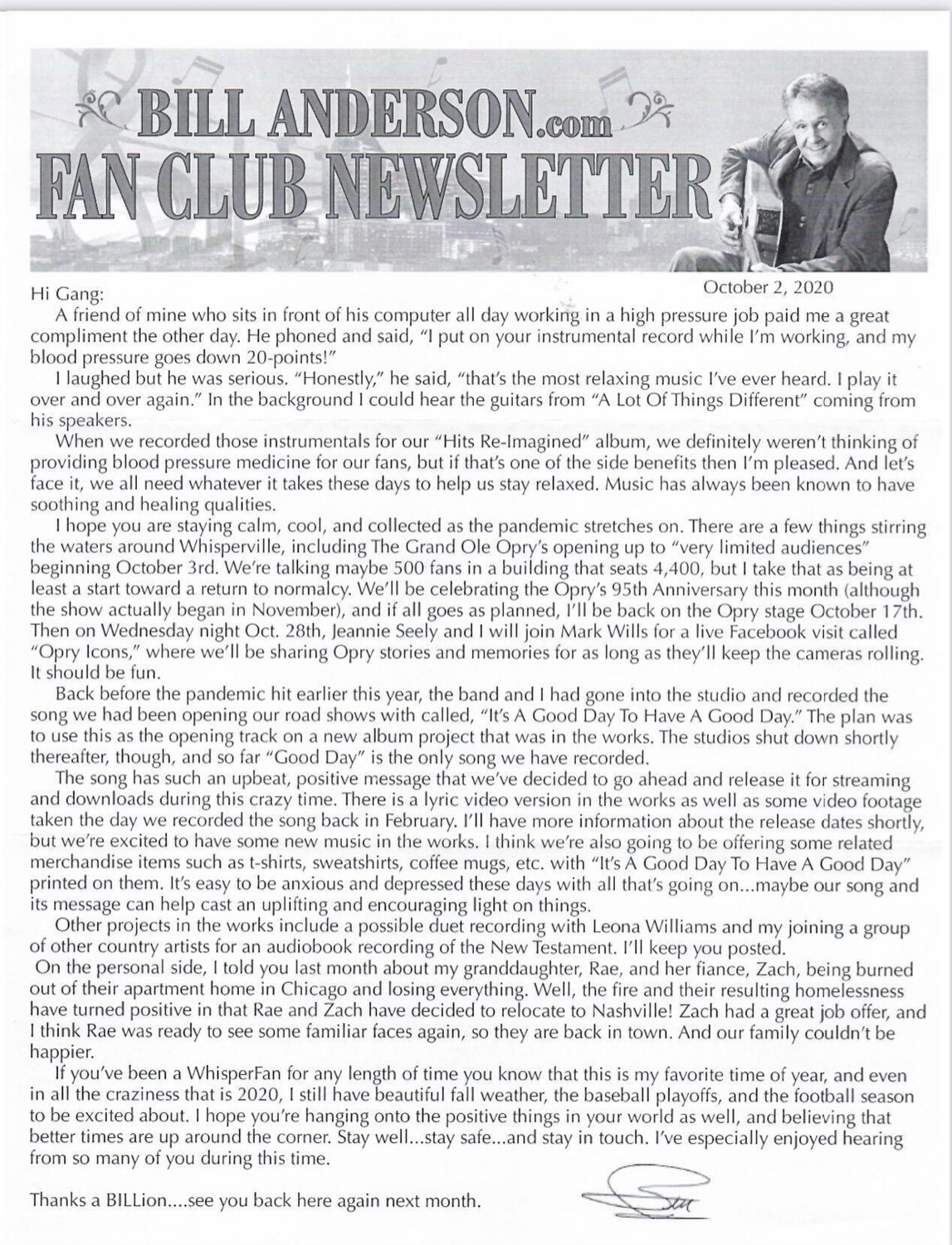 2021 Fan Club Hard Copy Gift Membership