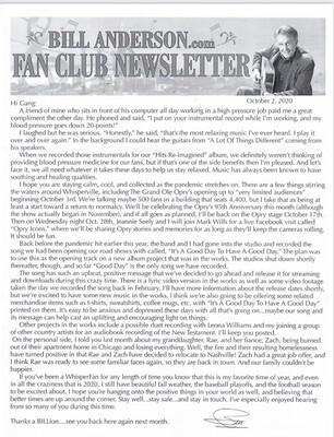 2021 Fan Club Hard Copy Gift Membership