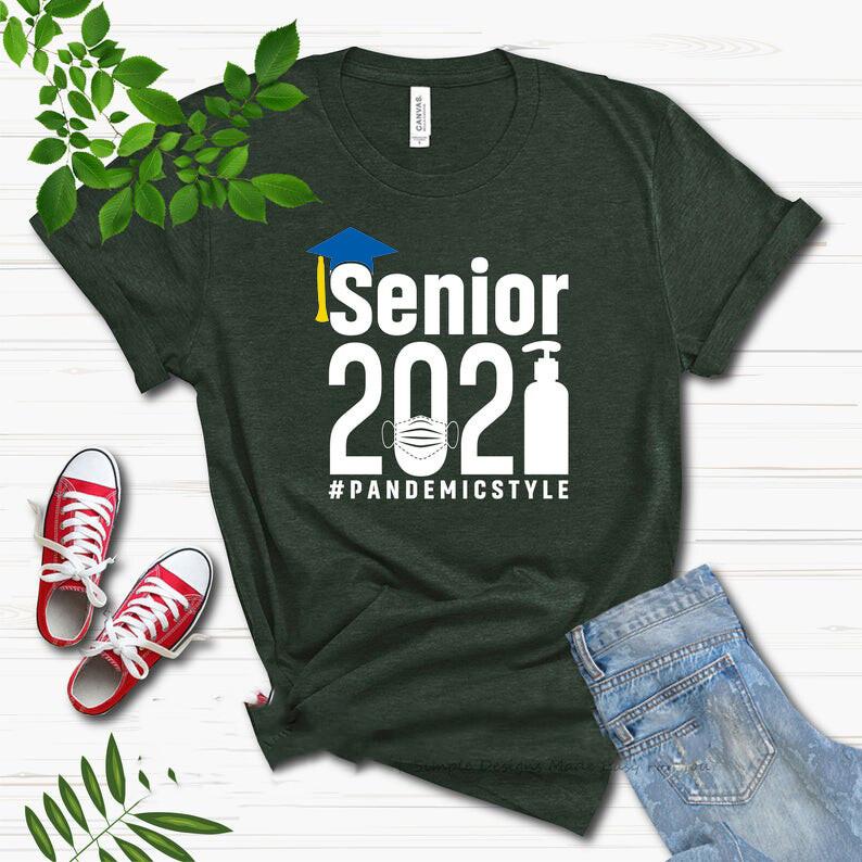 SENIOR 2021 SHIRTS  BLACK