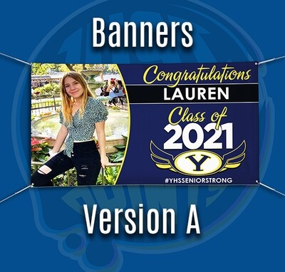 American Banner Pro - Banner Class of 2021 YUCAIPA HS