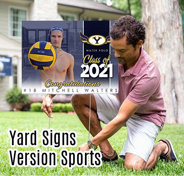 Grad Yard Sign - Class of 2021 YUCAIPA HS