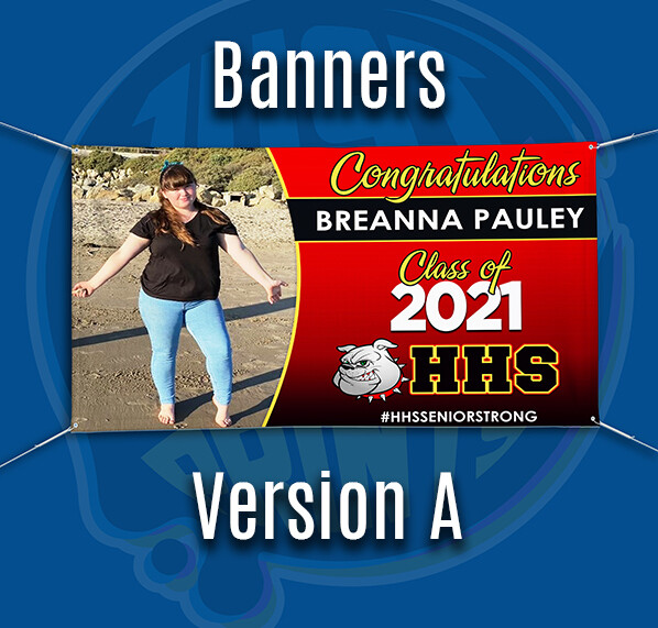 Grad Banner - Class of 2021 SAN JACINTO HS