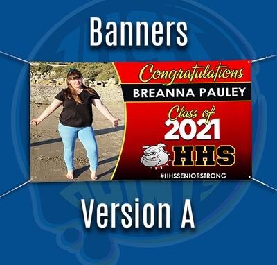 Grad Banner - Class of 2021 HEMET HS