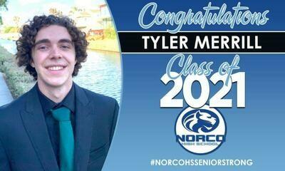 Grad Banner - Class of 2021 NORCO HIGH