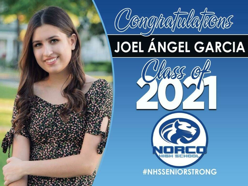 Grad Yard Sign - Class of 2021NORCO HS
