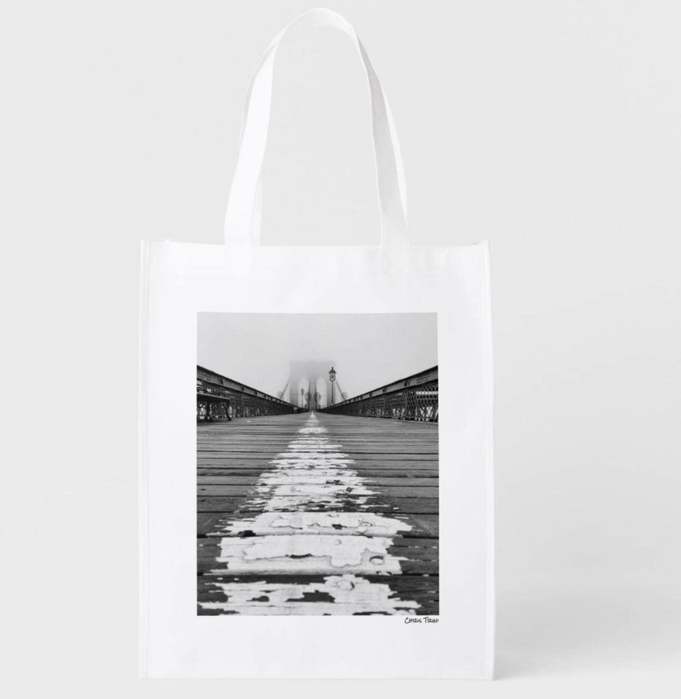 Chris Trini Reusable Grocery Bag