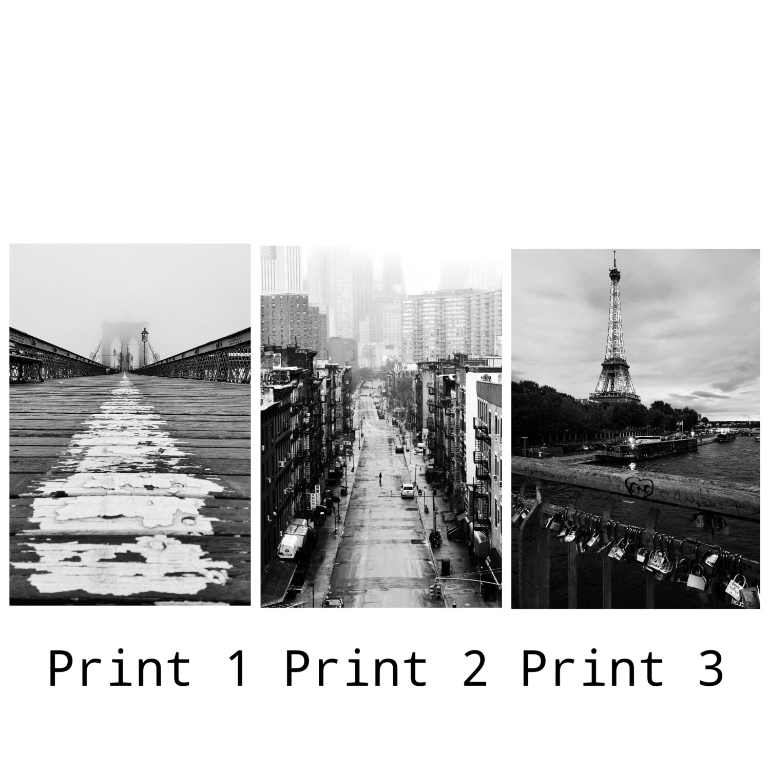 Prints Only No Frame