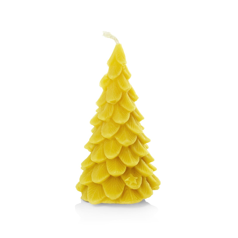 Bienenwachs-Kerze (Weihnachtsbaum)