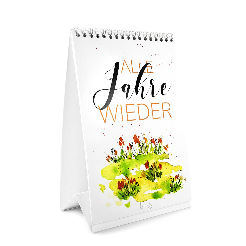 """Tischkalender """"Alle Jahre wieder"""" von Frohnatur"""