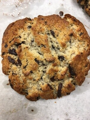 Chocolate, Coconut and Almond Scone