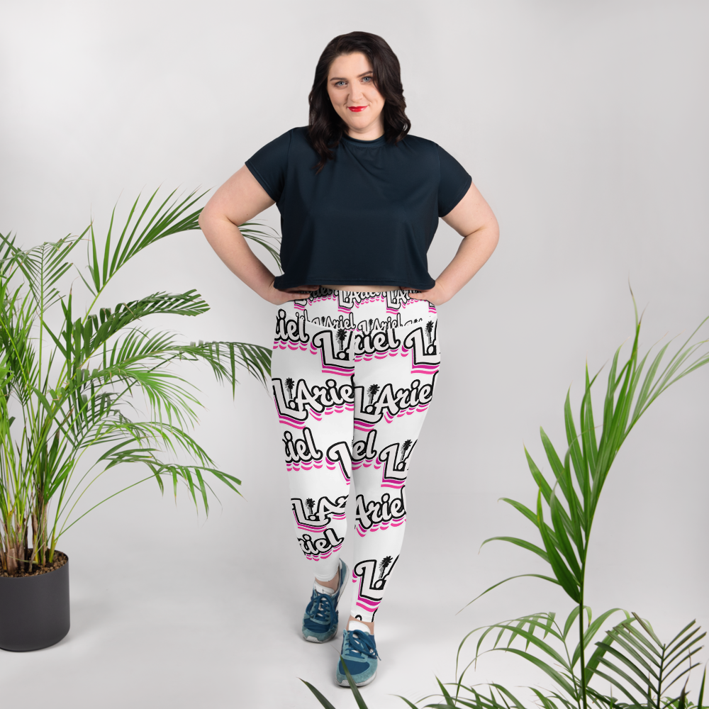 All-Over Print Plus Size Leggings