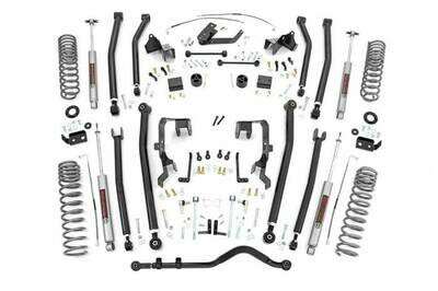 4in Jeep Long Arm Suspension Lift Kit (07-11 Wrangler JK | 4-door) - Rough Country