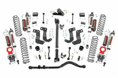 3.5in Jeep Suspension Lift Kit | Stage 2 | Coils & Control Arm Drop (18-19 Wrangler JL Unlimited Rubicon) Rough Country
