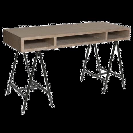 3 Space Open Desk