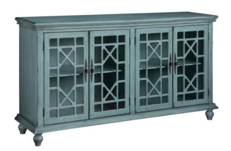 4 Panel Glass Sideboard