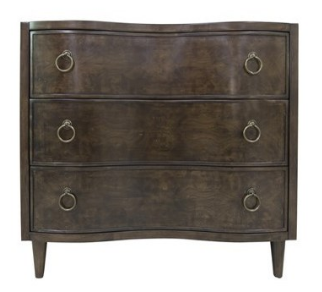 3 Curved Drawer Chest