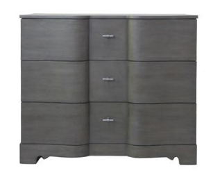S Shaped Curved Credenza