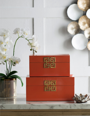 Orange  Decorative Box