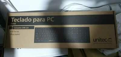 Teclado UNITEC 830 USB Alámbrico