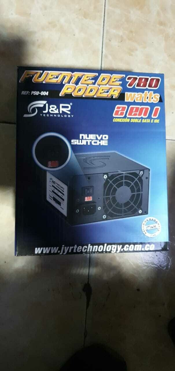 Fuente de Poder J&R 780W