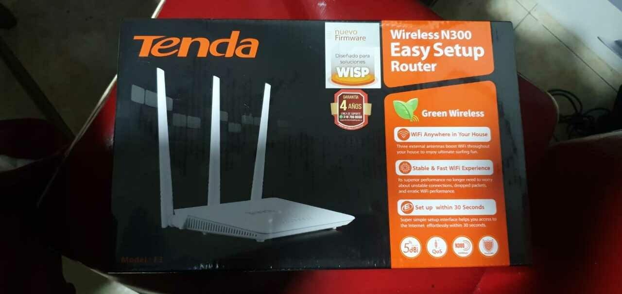 Router Tenda Wireless N300