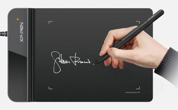 XP-PEN G430S 4x3 inch Drawing Tablet Digital Signature osu with 8192 Pen Pressure + Guia Curso Docente + Instalación Software Edición