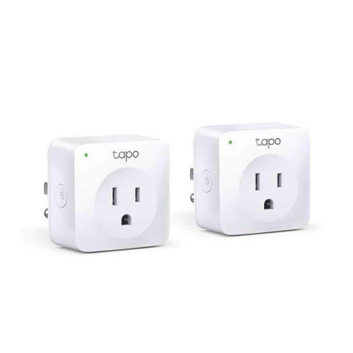 Mini Enchufe Inteligente Wi-Fi por 2 unidades
