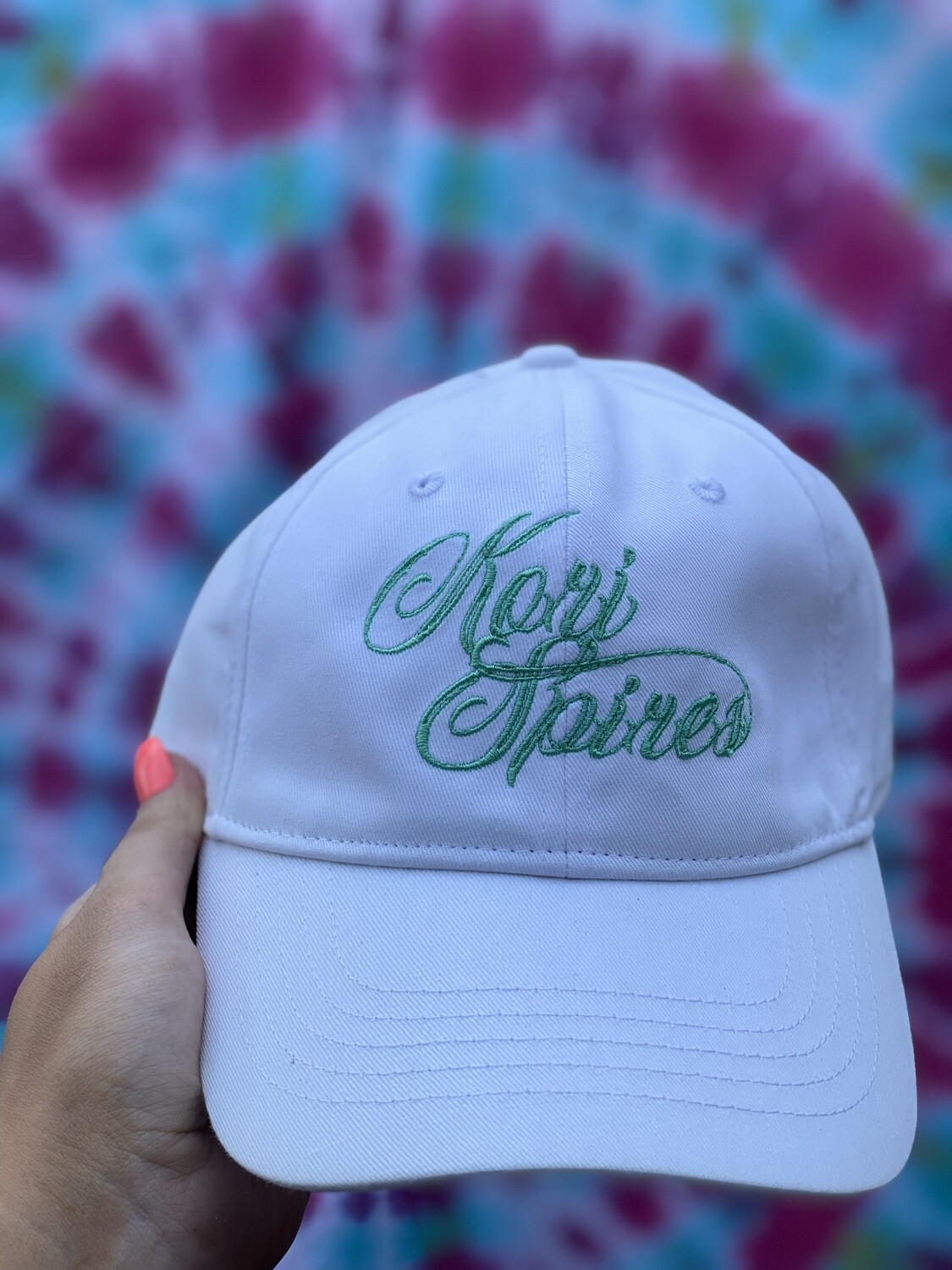 Kori Spires Dad Hat White/Mint