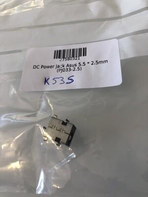 Conector jack carga Asus K53S