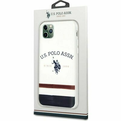 Carcasa iPhone 11 Pro Licencia Polo Ralph Lauren Blanco