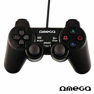 Mando Usb Omega Phantom Gaming para PC