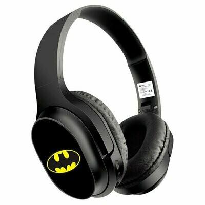 Auriculares Stereo Bluetooth Cascos Licencia Oficial DC Batman