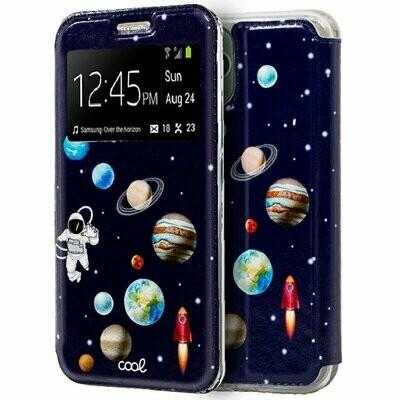 Funda COOL Flip Cover para iPhone 11 Pro Max Dibujos Astronauta