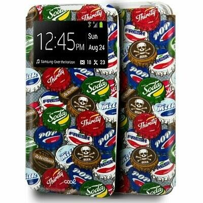 Funda COOL Flip Cover para Samsung A426 Galaxy A42 5G Dibujos Chapas