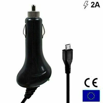 Cargador Coche Conector Micro-usb Universal 2Amp