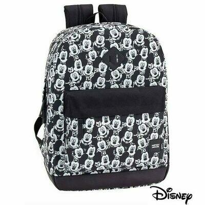Mochila Ordenador Portátil 15-16 pulg Licencia Disney Mickey Mochila Negra (Slim)