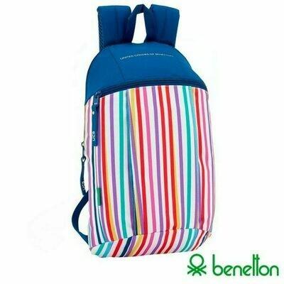 Mochila Ordenador Portátil 13-14 pulg Licencia United Colors Of Benetton Casual Lines