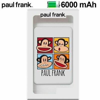 Bateria Externa Micro-usb Power Bank 6000 mAh Licencia Paul Frank