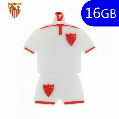 Pen Drive USB x16 GB Silicona Licencia Fútbol Sevilla Camiseta