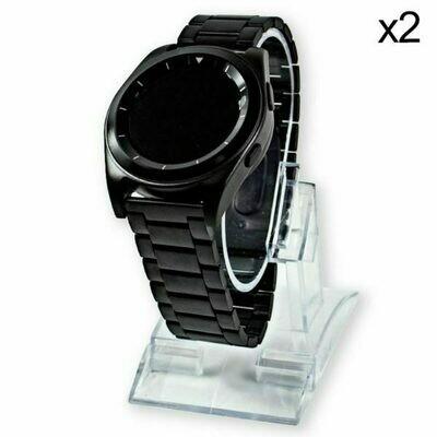 Soporte de Smartwatch Escaparate Transparente (Pack 2 uds)