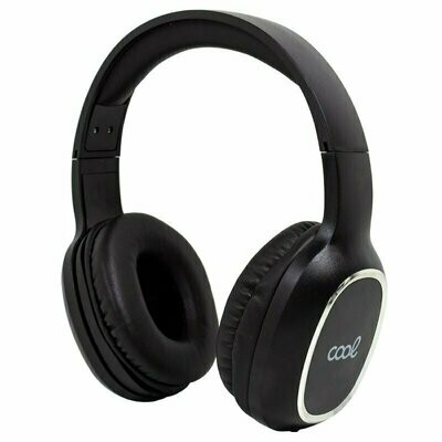 Auriculares Stereo Bluetooth Cascos COOL Arizona Negro