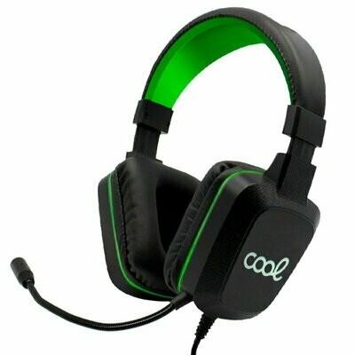 Auriculares Stereo Para PS4 / PC Gaming Iluminación COOL Wisconsin + Adapt. PS4