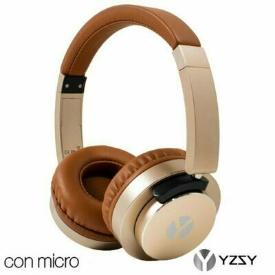 Auriculares Cascos Vigo Universal Stereo YZSY Brown