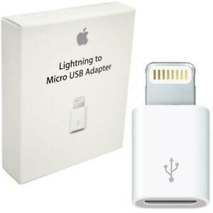 Adaptador de Lightning a Micro USB Apple